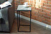 stolik z kamienym blatem